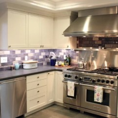 Beach House Kitchen Backsplash Ideas Mirrors Purple | Houzz