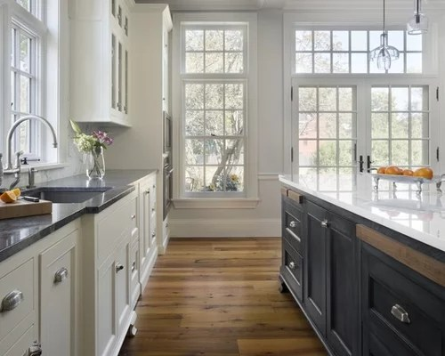 Contrasting Cabinet Color Home Design Ideas Pictures