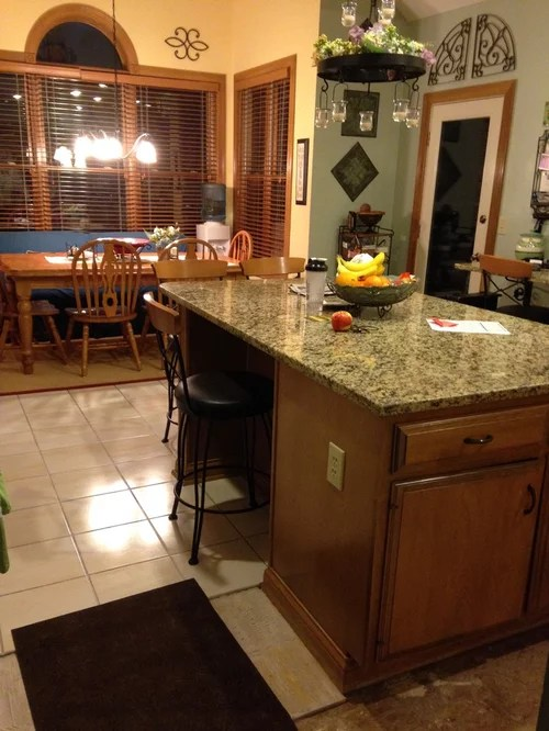 Counter height kitchen table or regular height