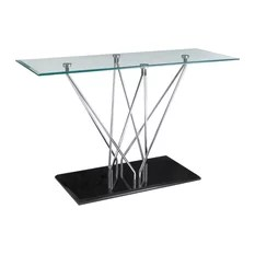 Halo Rectangle Console Table
