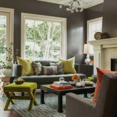 Colour Schemes For Living Rooms Green Decorating My Room Ideas Cream And Olive Scheme Photos Houzz Example Of A Transitional Design In San Francisco With Brown Walls