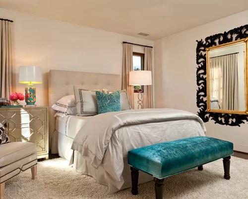Teal Bedroom Houzz