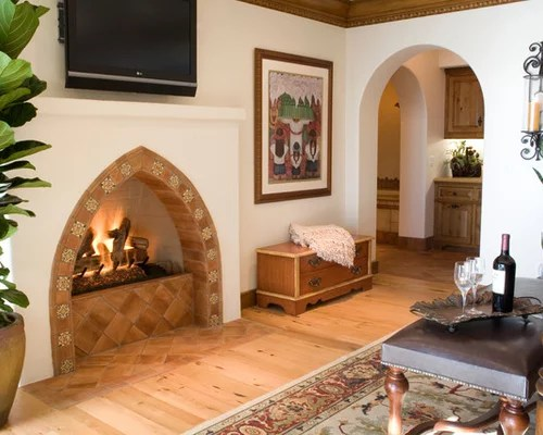 Best SpanishStyle Fireplace Design Ideas  Remodel