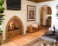 Spanish-style Fireplace | Houzz