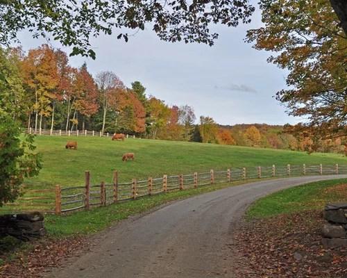 farm fence home design ideas