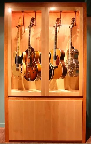 Guitar Display Cabinet Home Design Ideas Pictures