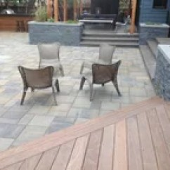 Tub Chair Covers Ireland Wheelchair Rugby Chairs For Sale Curved Composite Deck - Patio Denver By Rolling Ridge & Outdoor Living Co.
