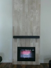 "FIREPLACE - 6"" x 24"" Travertine Plank Tile"