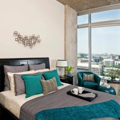 Modern Sofa Dallas Fold Out Bed Best Teal Gray Design Ideas & Remodel Pictures | Houzz
