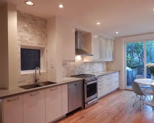 Small White Kitchen Tiles