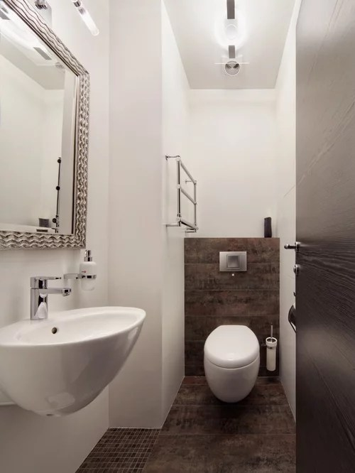 kitchen cabinets columbus farm sinks cloakroom design ideas, renovations & photos with brown tiles