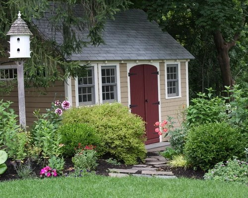 shed landscaping