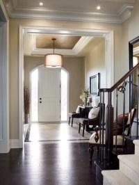 Tray Ceiling In Foyer | Houzz