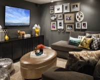 Small Tv Room Home Design Ideas, Pictures, Remodel and Decor