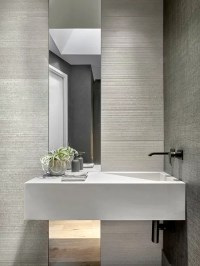 75 Modern Powder Room Design Ideas - Stylish Modern Powder ...