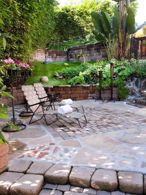landscaping stones patio