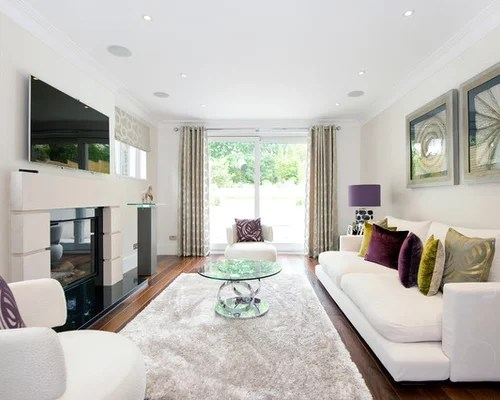 living rooms with dark grey feature walls accent chairs for room cream | houzz