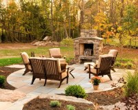 Small Outdoor Fireplace | Houzz