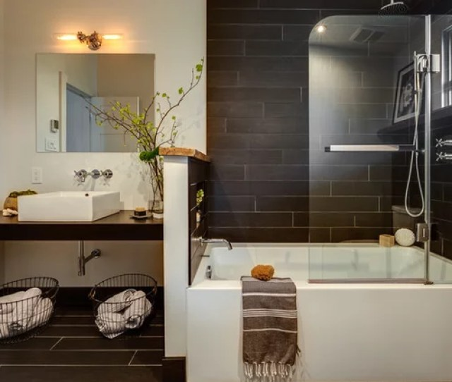 Contemporary Bathroom By Caroline Bouffard Design