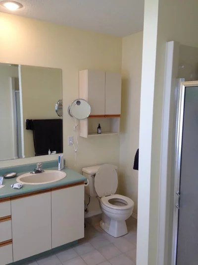 Room of the Day: Light, Bright and Warm Bathroom Renovation