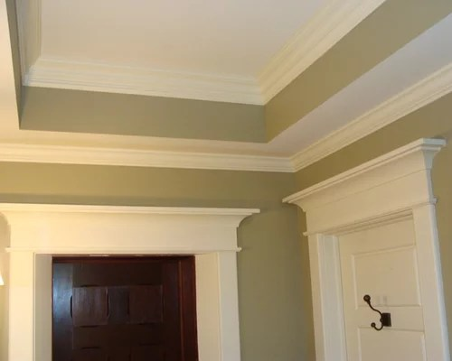 Two Piece Crown Molding  Houzz