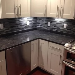 Kitchen Faucet Black Grohe Silver Pearl Granite | Houzz