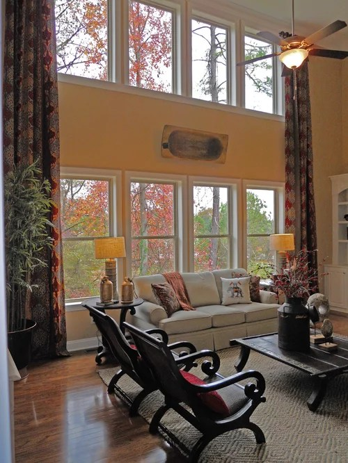 Two Story Drapes Ideas Pictures Remodel and Decor