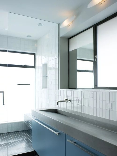 long bathroom sinks | houzz