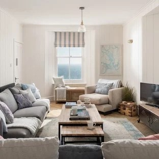 coastal living room ideas pictures austin 75 most popular design for 2019 stylish medium sized beach style enclosed in cornwall with white walls light hardwood flooring
