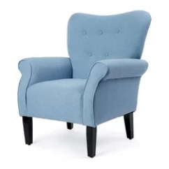 Transitional Accent Chairs Wheelchair Weed 50 Most Popular Armchairs And For 2019 Belleze Elegant Button Back Armchair Living Room Linen Upholstered Blue