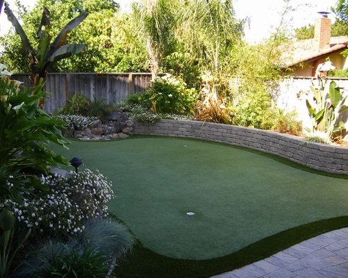 Golf Themed Garden Design Ideas Renovations & Photos