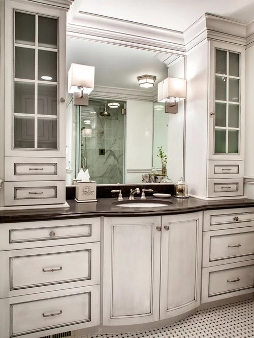 Custom Bathroom Cabinets Home Design Ideas Pictures