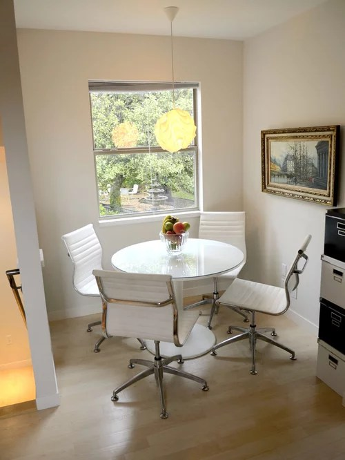 white round kitchen table and chairs zerega swivel chair ikea docksta | houzz
