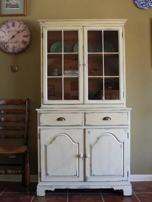 Farmhouse Style China Cabinet