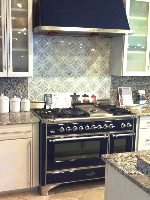 contemporary kitchen backsplash nook lighting ideas ilve range | houzz
