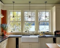 Over Sink Window Treatment Home Design Ideas, Pictures