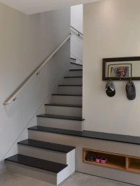 Enclosed Stair Home Design Ideas, Pictures, Remodel and Decor