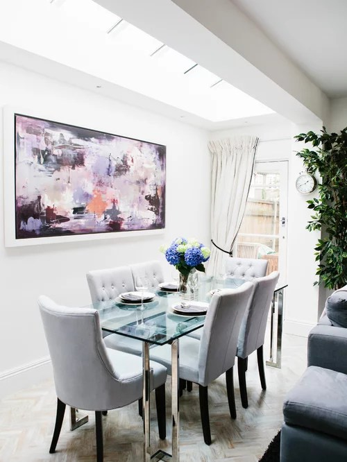Glass Dining Table Home Design Ideas Pictures Remodel