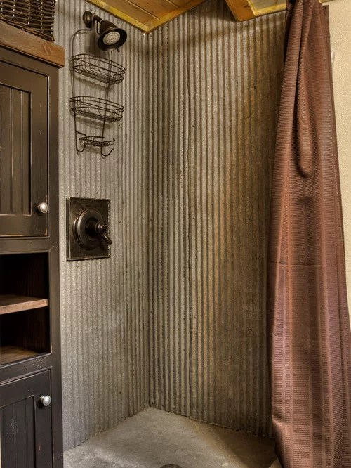 Rustic Shower Design Ideas  Remodel Pictures  Houzz