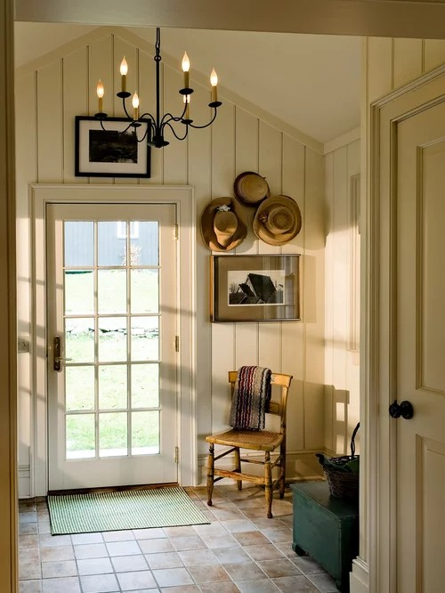 Country Foyer Home Design Ideas Pictures Remodel and Decor