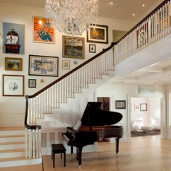 Decorating Ideas For The Living Room Walls Best White Paint Uk Large Foyer | Houzz