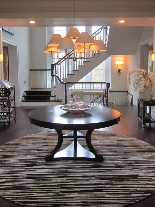 Round Entry Table Ideas Pictures Remodel and Decor