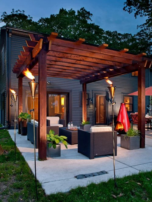 Best Contemporary Patio Design Ideas & Remodel Pictures Houzz
