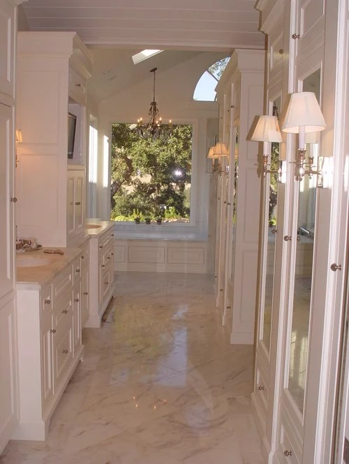 Are Polished Marble Floors Slippery In A Bathroom When Wet