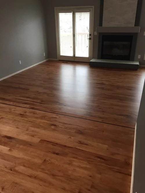 Stained White Oak with DuraSeal Cherry