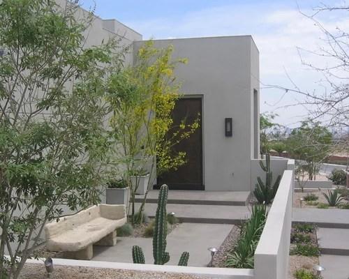 modern desert landscape home design