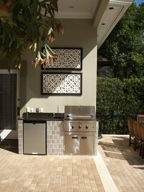 Small Outdoor Kitchen Home Design Ideas Pictures Remodel