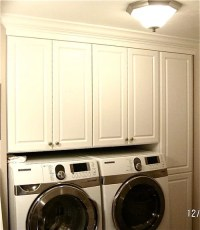 Easier access to upper laundry cabinets!