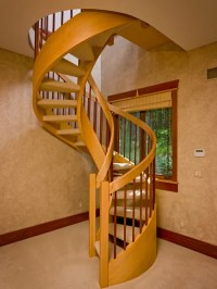 Wood Spiral Staircase Home Design Ideas, Pictures, Remodel ...