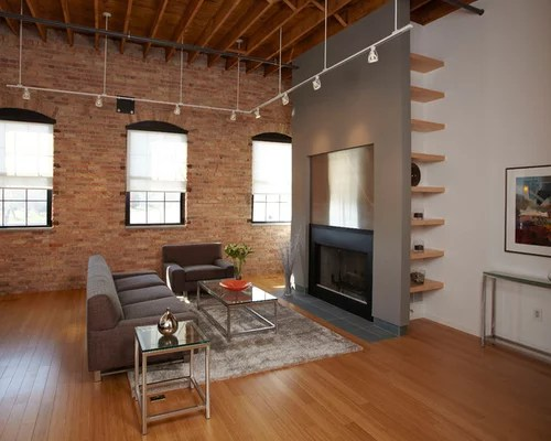 formal living room with brick fireplace beautiful small decor suspended track lighting ideas, pictures, remodel and